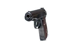 Russian Makarov police gun of 9 mm Stock Photo