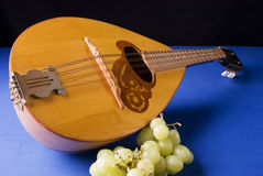 Russian mandolin Stock Image
