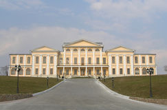 Russian manor near Moscow Royalty Free Stock Image