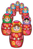 Russian matreshka Stock Photos