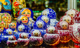 Russian matreshka Royalty Free Stock Images