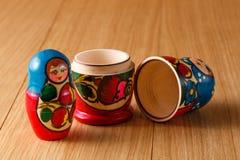 Russian matreshka Royalty Free Stock Photography