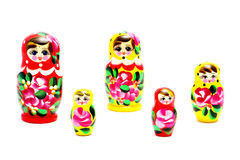 Russian Matrioska Royalty Free Stock Images