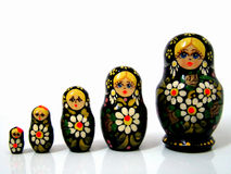 Russian Matrioska Royalty Free Stock Image
