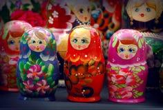Russian Matrioskas Royalty Free Stock Photography