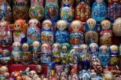 Russian matryoshka Royalty Free Stock Photography