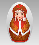 Russian matryoshka Royalty Free Stock Photography