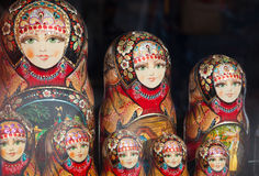 Russian Matryoshka Royalty Free Stock Photo