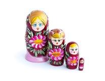 Russian matryoshka Royalty Free Stock Images