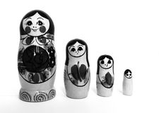 Russian matryoshka stock image