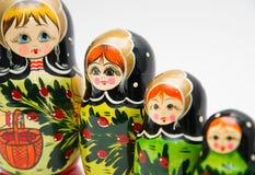 Russian matryoshkas Stock Images