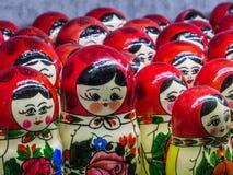 Russian matryoshkas (Nesting dolls) Stock Photos