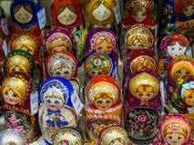 Russian matryoshkas Nesting dolls Stock Image