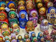 Russian matryoshkas Royalty Free Stock Photos