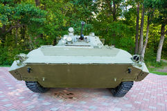 Russian mechanized infantry combat vehicle. Royalty Free Stock Images