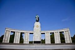 Russian Memorial, Berlin Royalty Free Stock Images