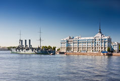 Russian memorial cruiser Stock Photography