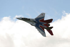Russian MIG-29 fighter jet Stock Photography