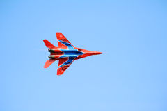 Russian Mig 29 M2 fighter plane Royalty Free Stock Photo