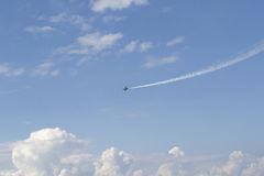 Russian military airplane Stock Photography