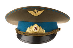 Russian Military Cap Royalty Free Stock Images