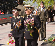 Russian military ceremony Stock Image