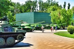 Russian military equipment Royalty Free Stock Photography