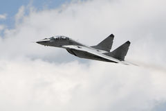 Russian military fighter jet Royalty Free Stock Images
