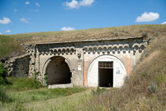 Russian military fortress. Kerch, Crimea Stock Photography
