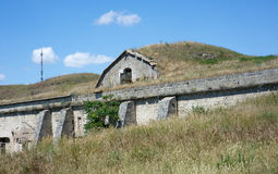 Russian military fortress. Kerch, Crimea Royalty Free Stock Photos