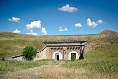 Russian military fortress. Kerch, Crimea Stock Photos