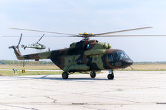 Russian military Mi-17 Royalty Free Stock Photography