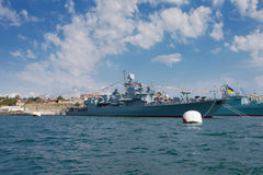 Russian military ships Royalty Free Stock Photography