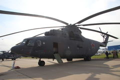 Russian military-transport helicopter MI-26 Stock Image