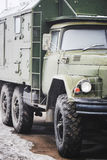 Russian military vehicle Stock Photography