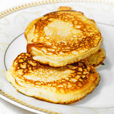 Russian  mini pancakes Royalty Free Stock Images