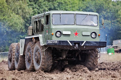 Russian missile launcher Stock Image