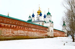 Russian monastery Stock Images