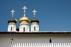 Russian monastery. Ancient Joseph-Volokolamsk Monastery (Iosifo-Volotsky) in Russia Royalty Free Stock Photography