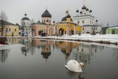 Russian monastery Davydova pustyn Royalty Free Stock Photography