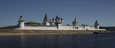 Russian monastery Makariy Royalty Free Stock Photography