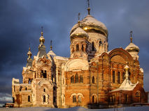 Russian monastery Perm region Stock Images