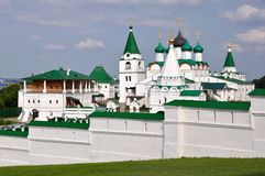 Russian Monastery in Summer Stock Photography