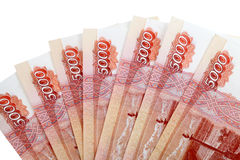 Russian  money Royalty Free Stock Images