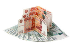 Russian money Stock Image