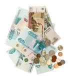 Russian money Stock Photos