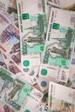 Russian money background. Stock Photography