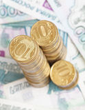 Russian money Stock Photography