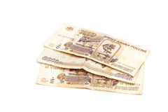 Russian money. One thousands rubles Royalty Free Stock Images