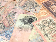 Russian money. Royalty Free Stock Photography
